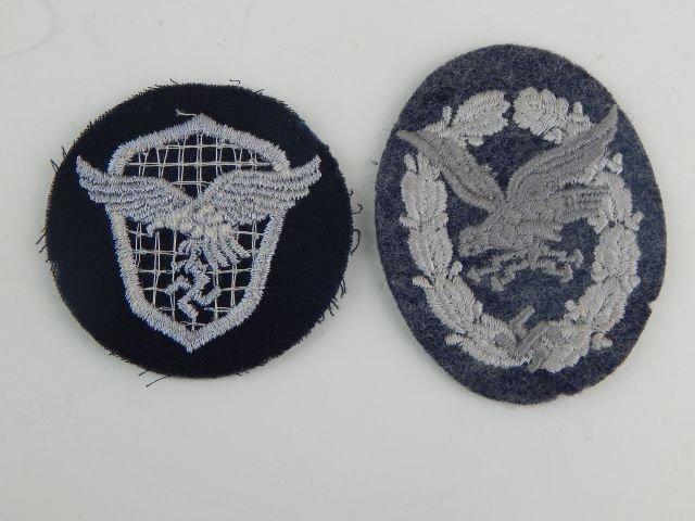 Seven German Luftwaffe Badges - 4