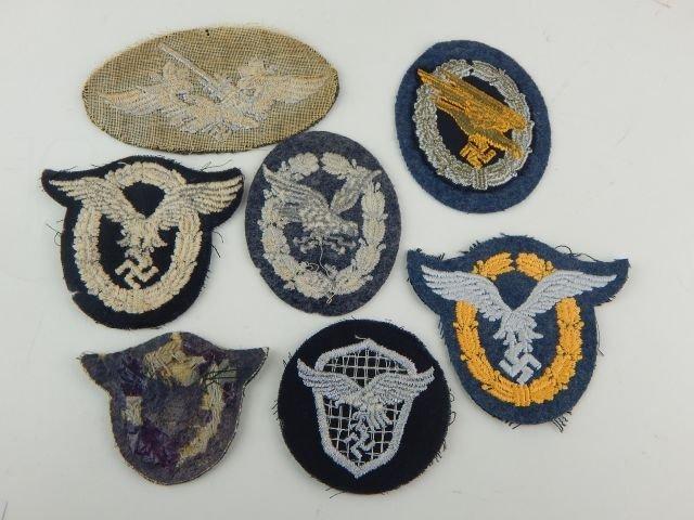 Seven German Luftwaffe Badges - 5