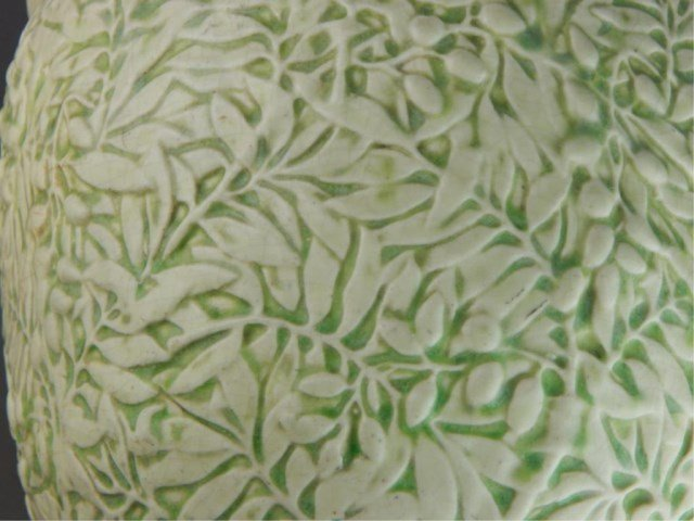 Weller Art Pottery Marvo Green Jardiniere - 3