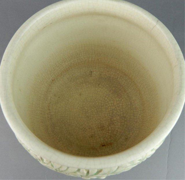 Weller Art Pottery Marvo Green Jardiniere - 4