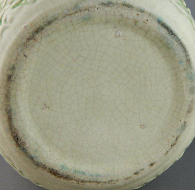 Weller Art Pottery Marvo Green Jardiniere - 5