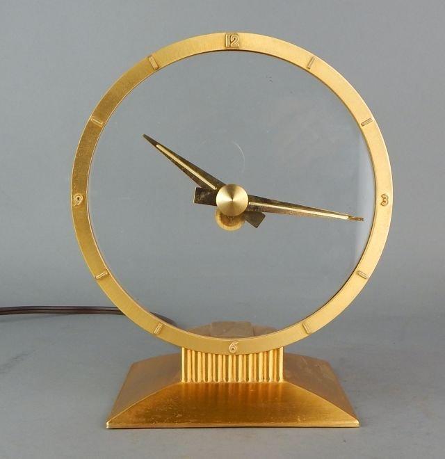Jefferson Golden Hour Electric Mystery Clock