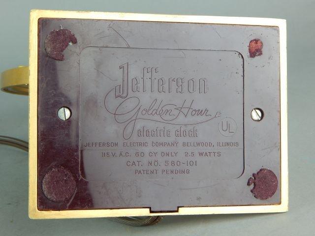 Jefferson Golden Hour Electric Mystery Clock - 5