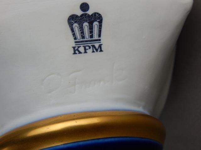 Pair of KPM Porcelain Busts - 4
