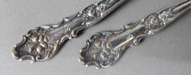Silver Plate And Sterling Demitasse Spoons - 3