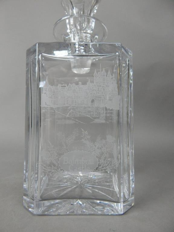 Four Crystal With Sterling Decanters - 5