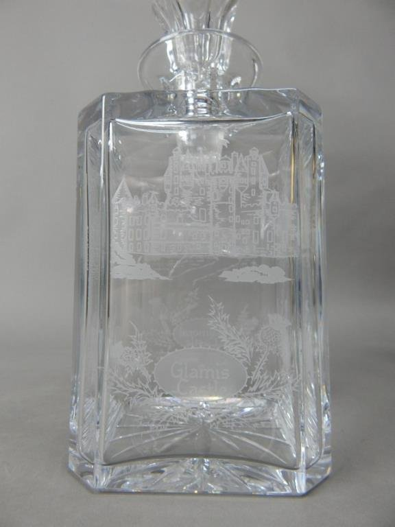 Four Crystal With Sterling Decanters - 7