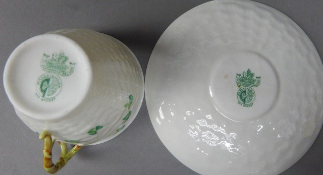 Collection Of Five Vintage Belleek Items - 10