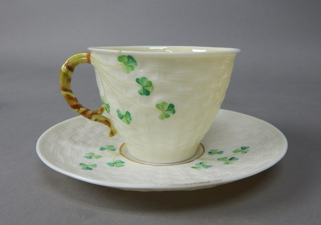 Collection Of Five Vintage Belleek Items - 2