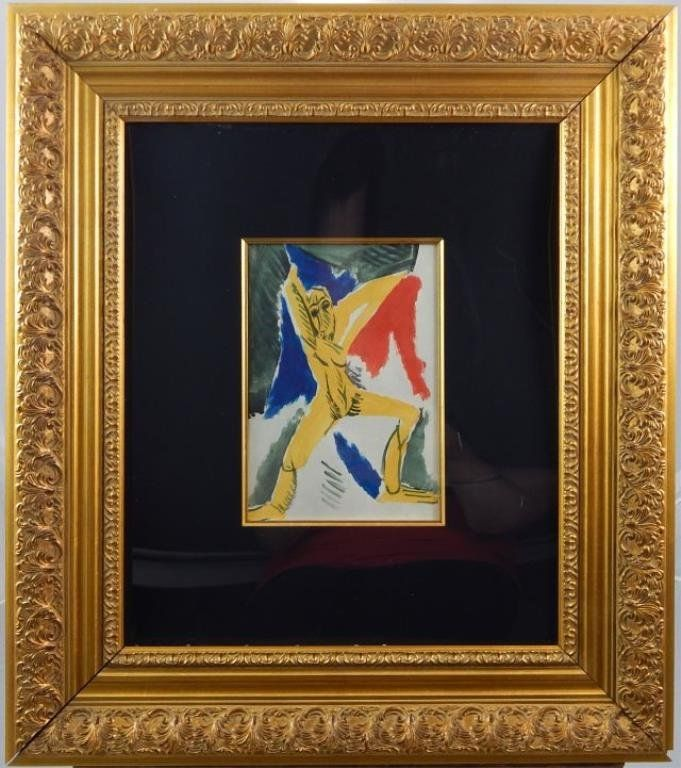 """(408) Pablo Picasso """"Figure"""""""
