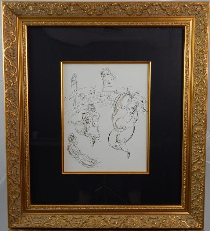 "(469) Marc Chagall ""Carmen"""
