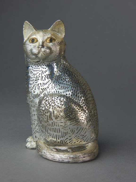 Christofle France Filigree Lumiere Collection Cat