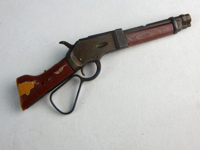 Miniature Gun, Pocket Knives & 44 Cal Shell Casing - 2