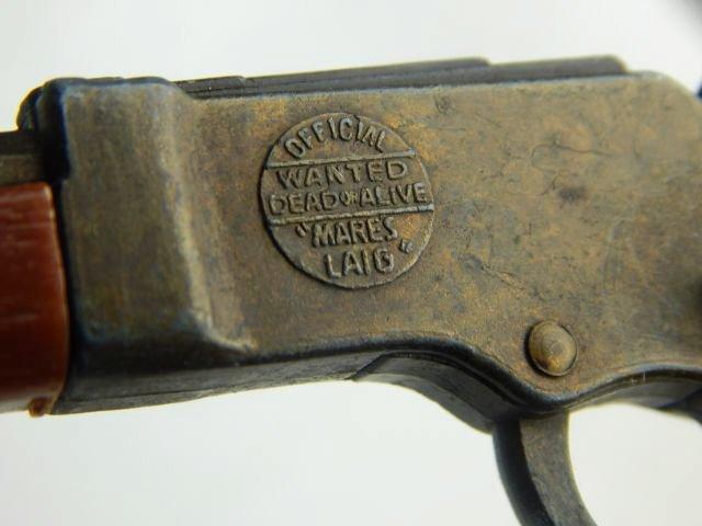 Miniature Gun, Pocket Knives & 44 Cal Shell Casing - 3