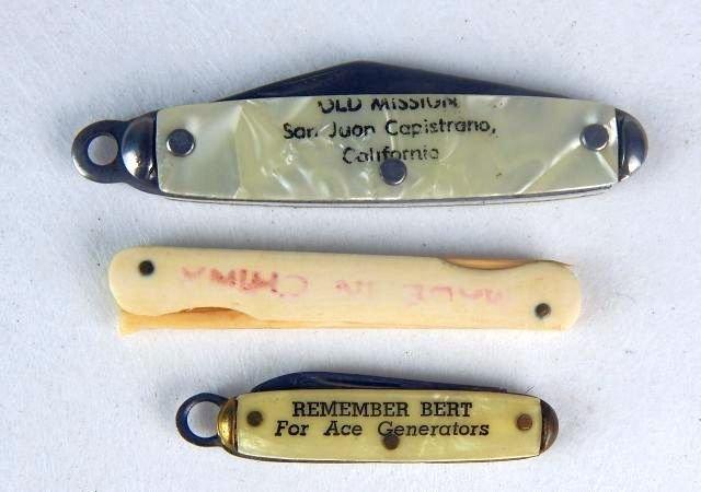 Miniature Gun, Pocket Knives & 44 Cal Shell Casing - 4
