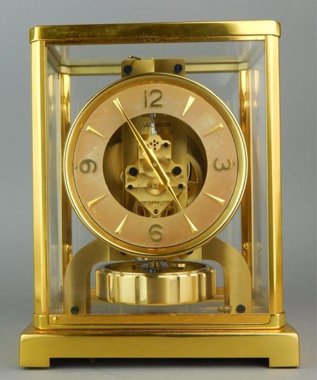 Rare Le Coultre Atmos Clock (Model 526-5)