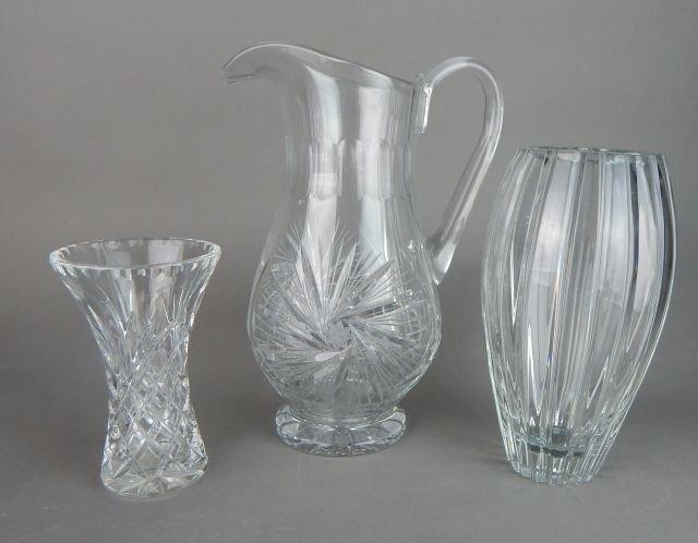 American Brilliant Cut Crystal Grouping - 4