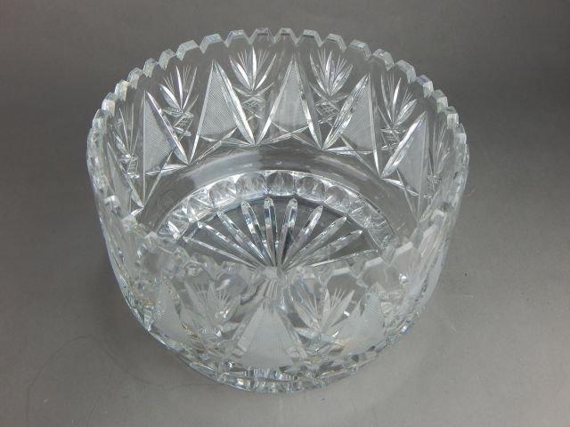 American Brilliant Cut Crystal Grouping - 6