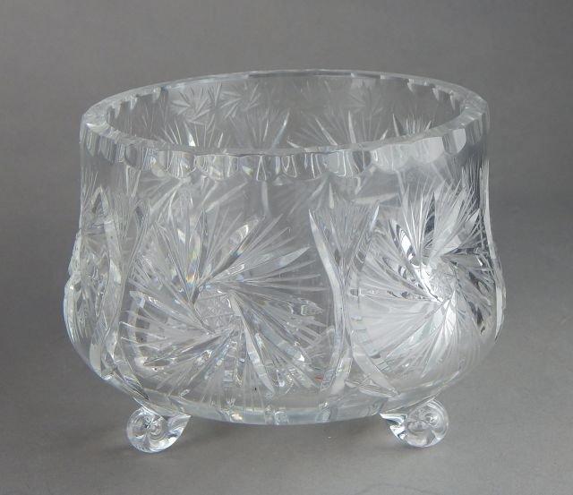 American Brilliant Cut Crystal Grouping - 7
