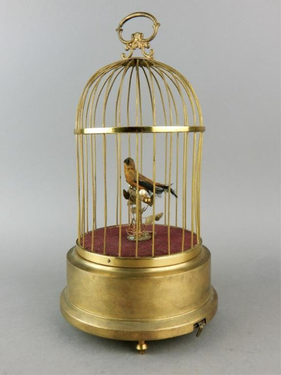 Automaton Singing Bird in a Cage