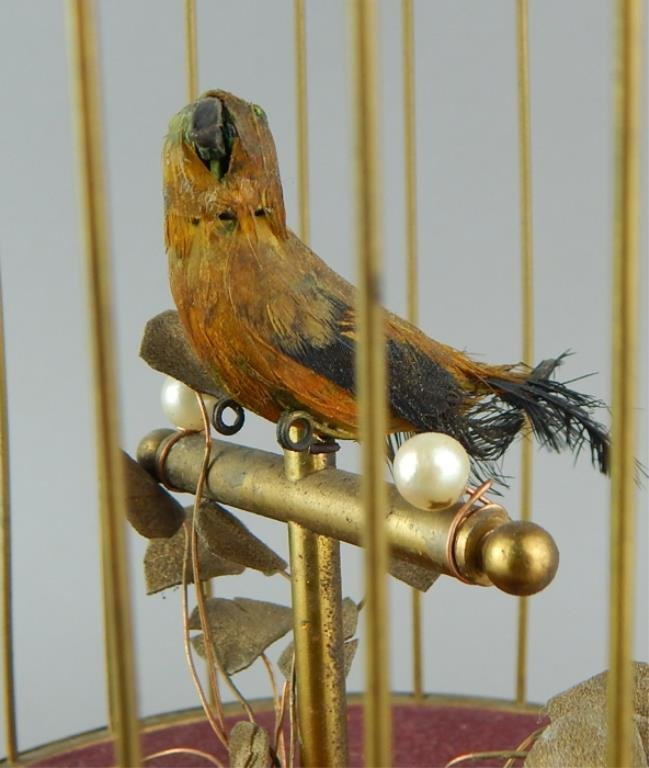 Automaton Singing Bird in a Cage - 2