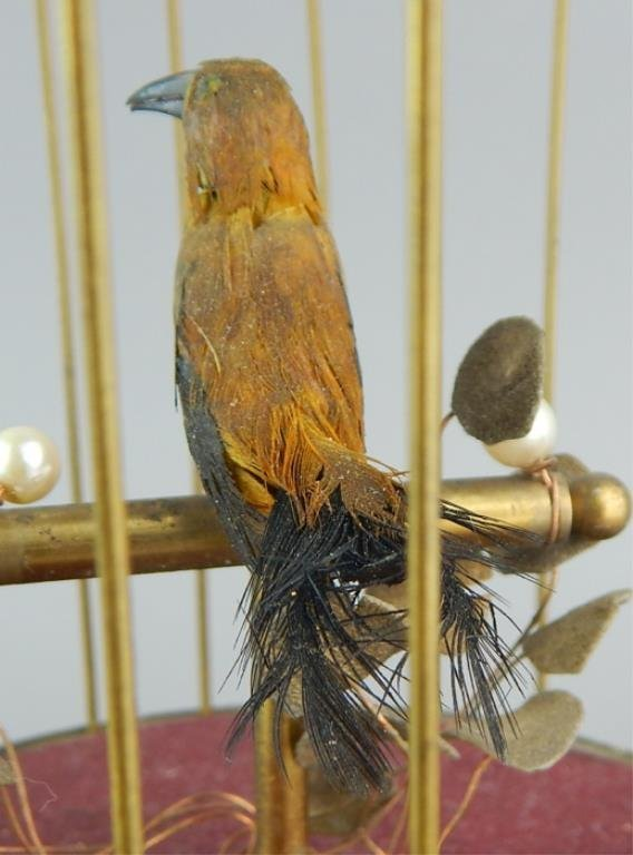Automaton Singing Bird in a Cage - 4