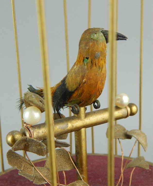 Automaton Singing Bird in a Cage - 6