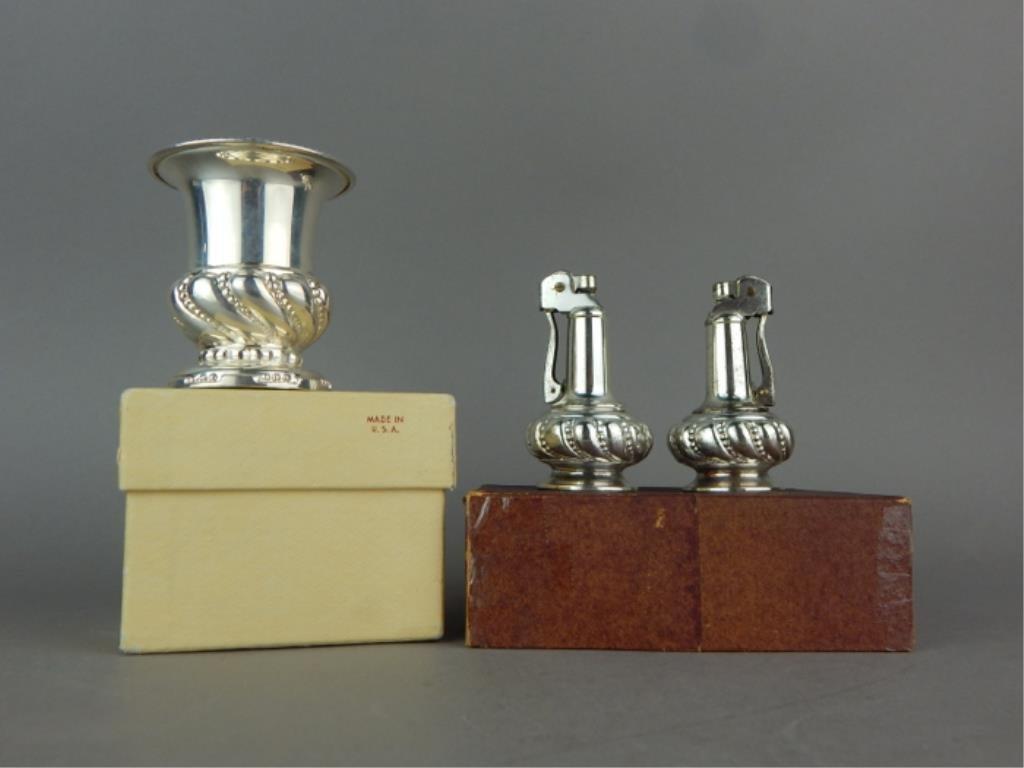 Vintage Ronson USA Cigarette Holder & Lighters - 2