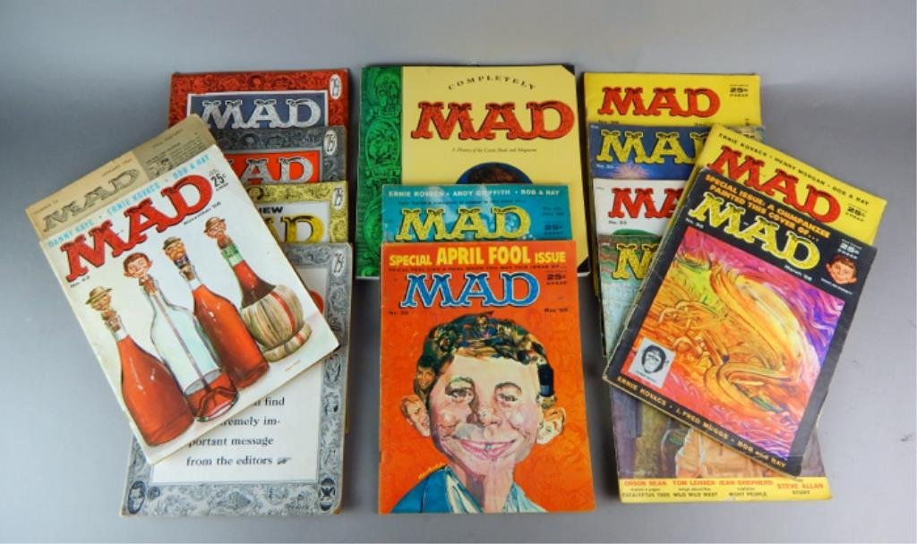 Mad Magazine Collection July 1955 - January 1960