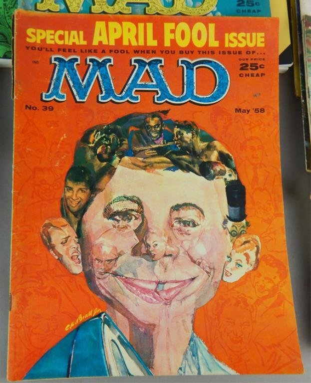Mad Magazine Collection July 1955 - January 1960 - 2