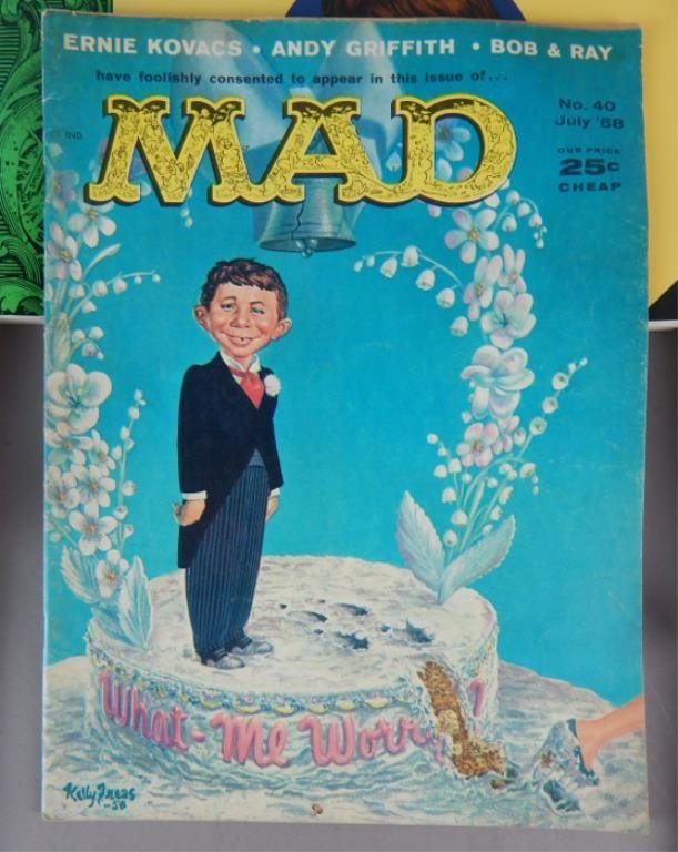 Mad Magazine Collection July 1955 - January 1960 - 3