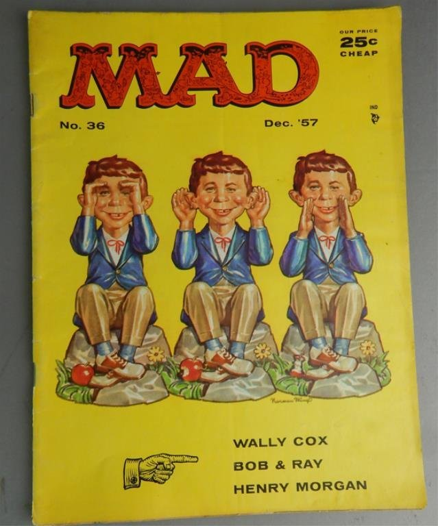 Mad Magazine Collection July 1955 - January 1960 - 4