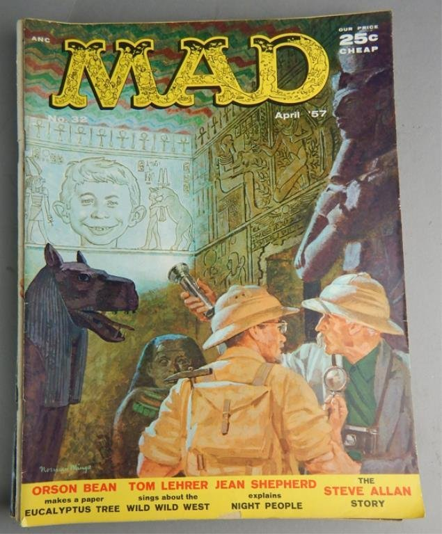 Mad Magazine Collection July 1955 - January 1960 - 5