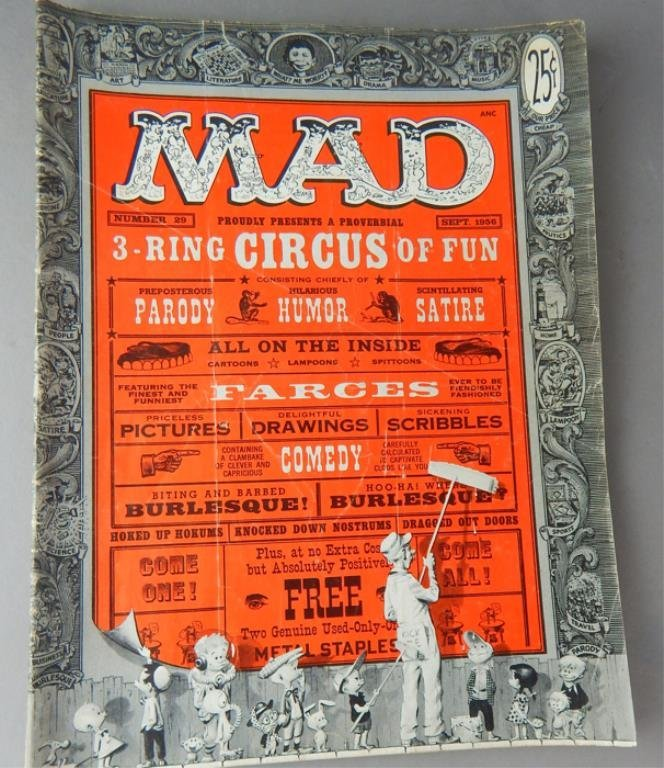 Mad Magazine Collection July 1955 - January 1960 - 6