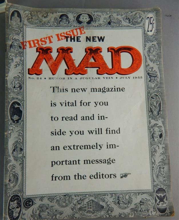 Mad Magazine Collection July 1955 - January 1960 - 7