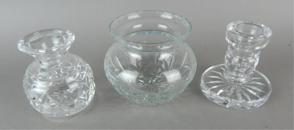 Waterford Crystal Vanity Grouping - 3