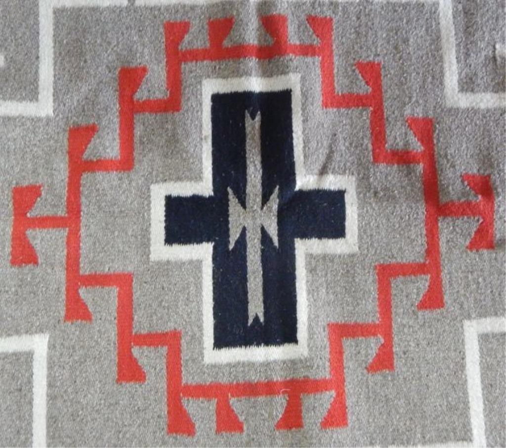 Navajo Handwoven Rug - 5