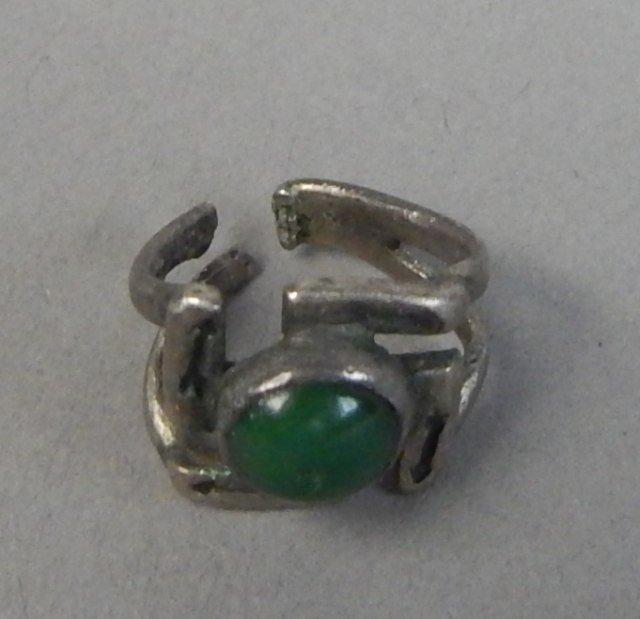 Sterling Silver Bracelet,Earrings and Ring - 3