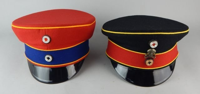 Two German Imperial Guard Hats - 2