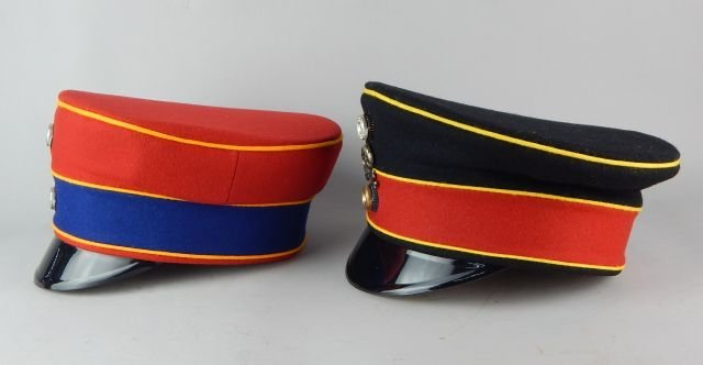 Two German Imperial Guard Hats - 3