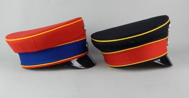 Two German Imperial Guard Hats - 4