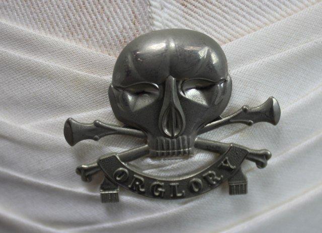 British White Pickelhaub Spike Helmet - 5