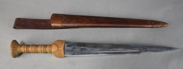 Dagger With Brass Handle