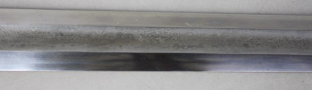 Engraved Sword With Sheath - 3