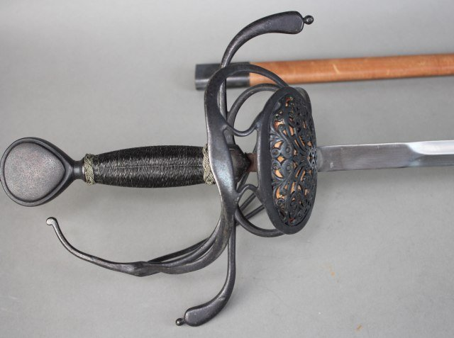 Sword With Scabboard - 2