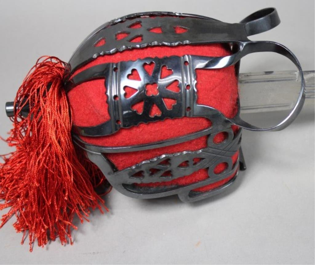 Sword With Red Cuff - 2