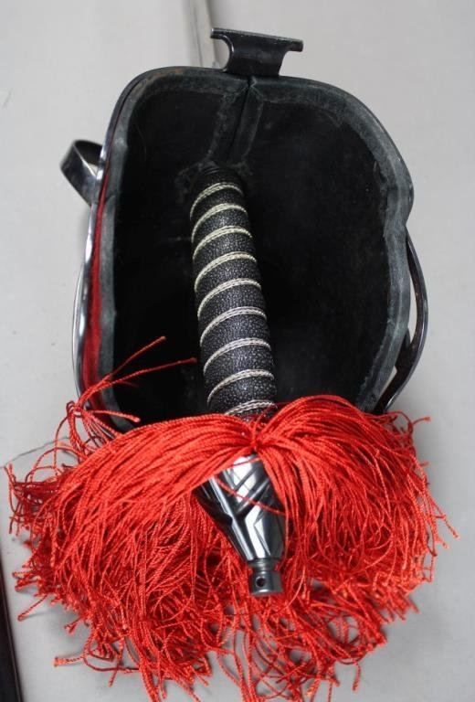 Sword With Red Cuff - 3