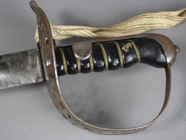 Eisenhower Hard Steel Sword - 3