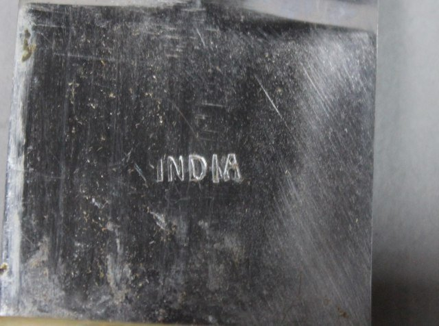 Large Knife From India - 4
