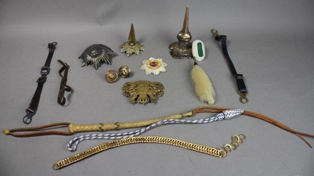 Fifteen Pieces Helmet Parts